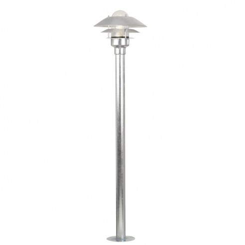 Nordlux Aalborg 2002 Garden Post Light - Galvanised