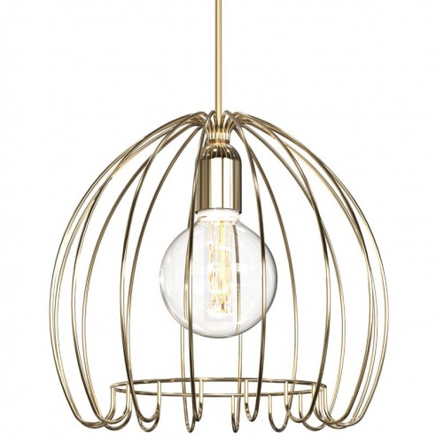 Nordlux Cage Ceiling Pendant Brass