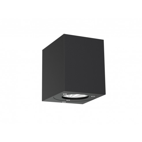 Nordlux Canto Kubi Outdoor Wall Light - Black