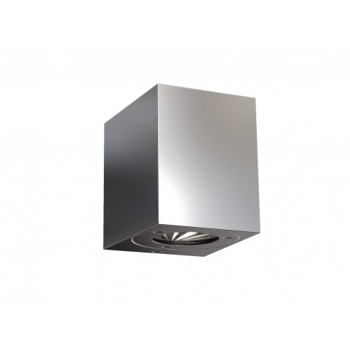 Nordlux Canto Kubi Outdoor Wall Light - Stainless Steel