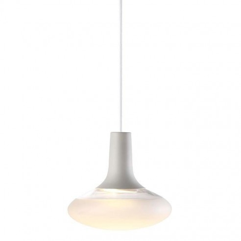 DFTP Nordlux Dee 2.0 Oval Pendant Light White 84423001