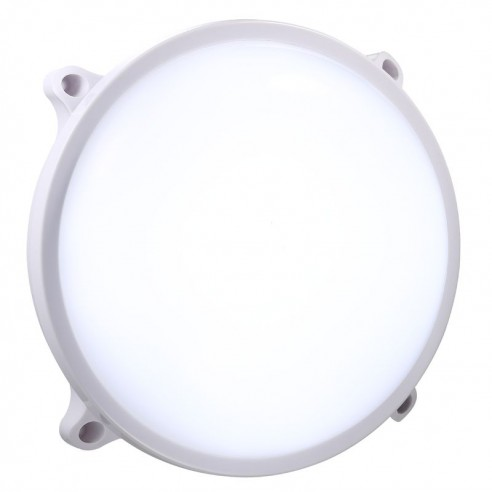Nordlux Moon Round Wall Light - White