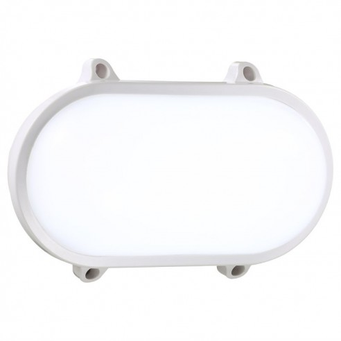 Nordlux Moon Oval LED Wall Light 20W - White