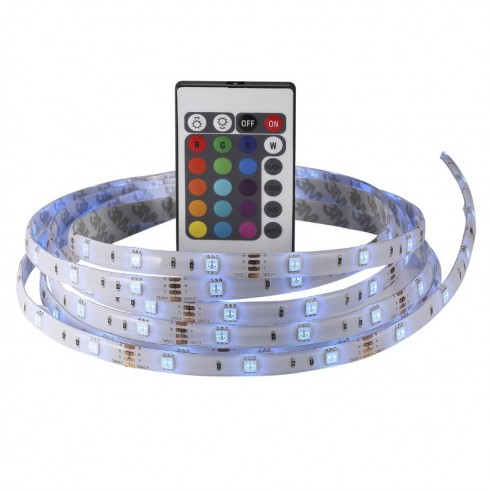 Nimba RGB IP65 3M LED Strip With Remote