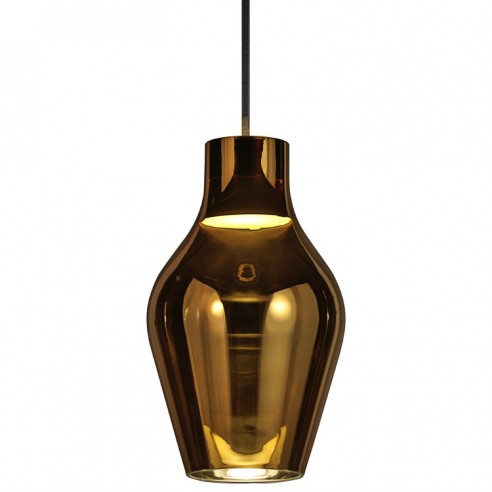 Nordlux Blow 17 Ceiling Pendant Light - Gold