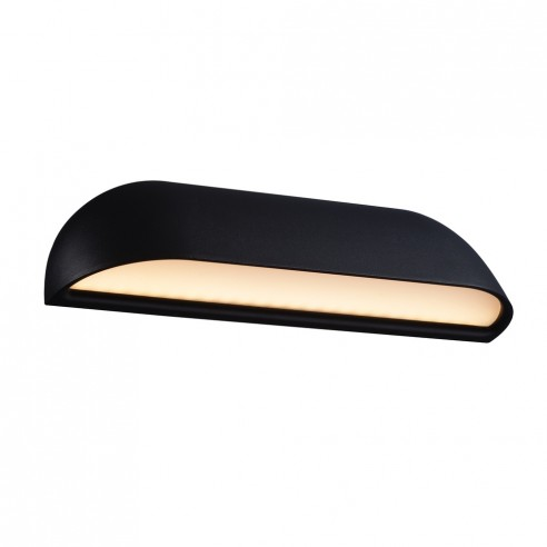 Nordlux Front 26 Outdoor Wall Light - Black