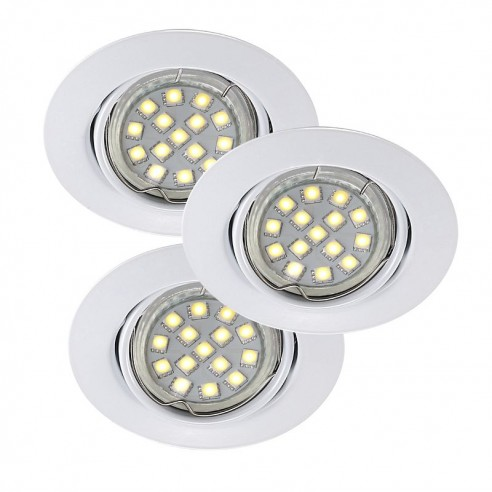 Nordlux Triton 3-Set LED SMD Built-in - White