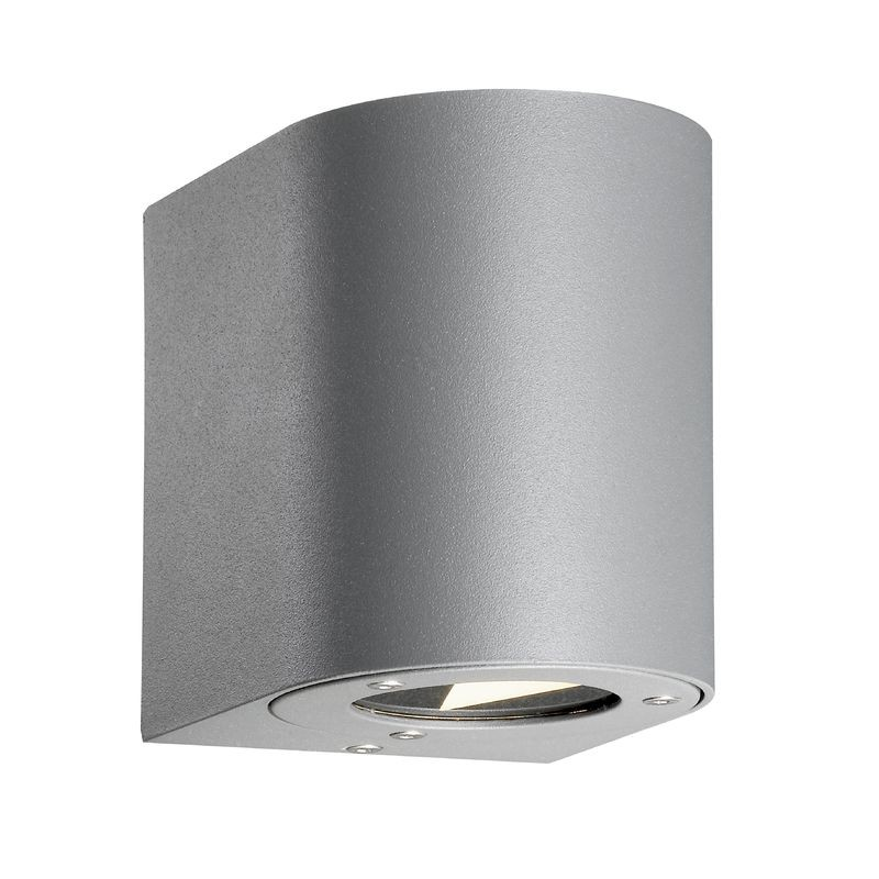 Outside Wall Lights Grey : Nordlux Canto Outdoor LED Wall Light - Grey