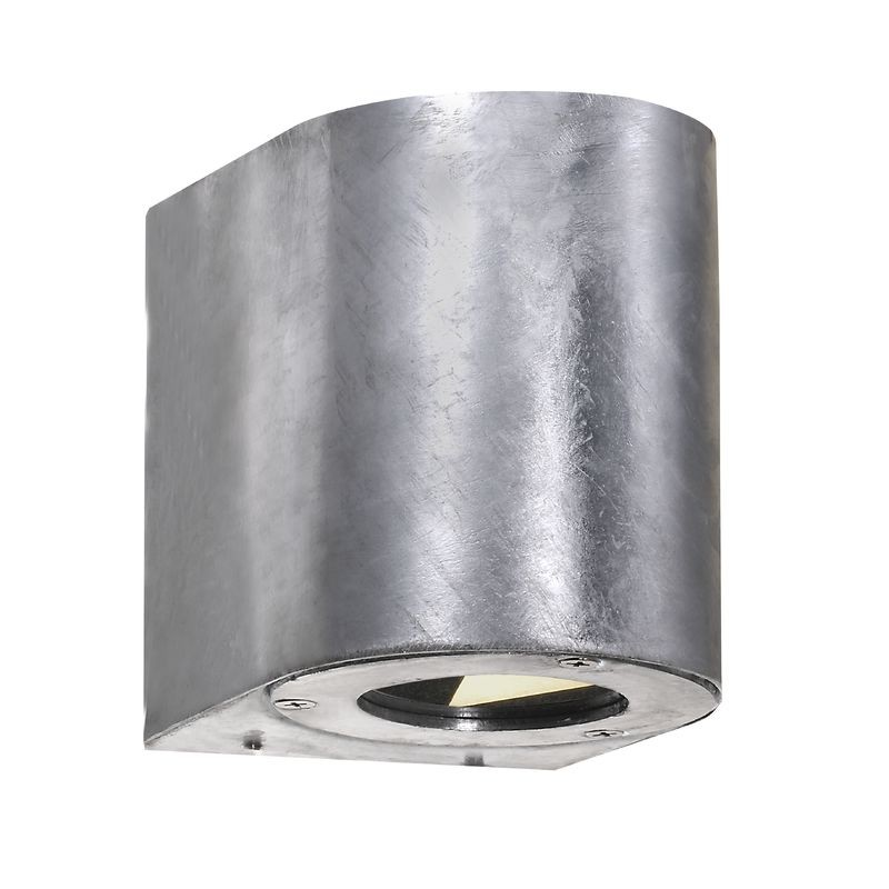 home nordlux canto outdoor led wall light galvanised