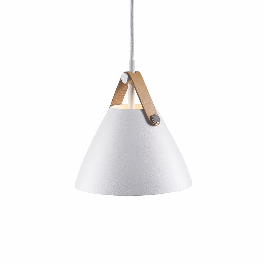 Nordlux Strap 16 Pendant Light White
