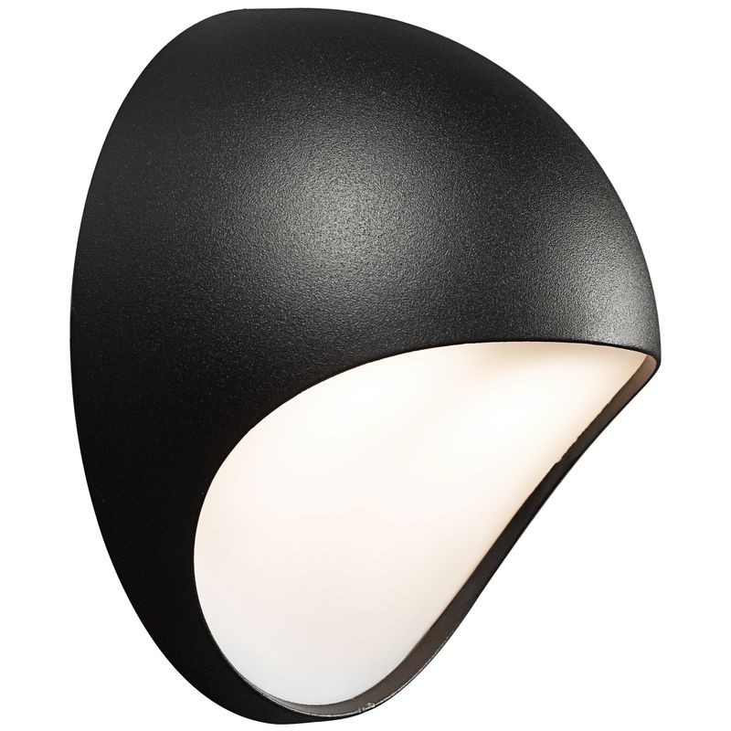Fuel led outdoor wall light black nordlux fuel led outdoor wall light black audiocablefo