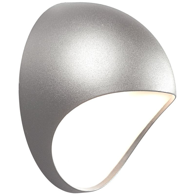 Nordlux fuel led outdoor wall light grey aloadofball Images