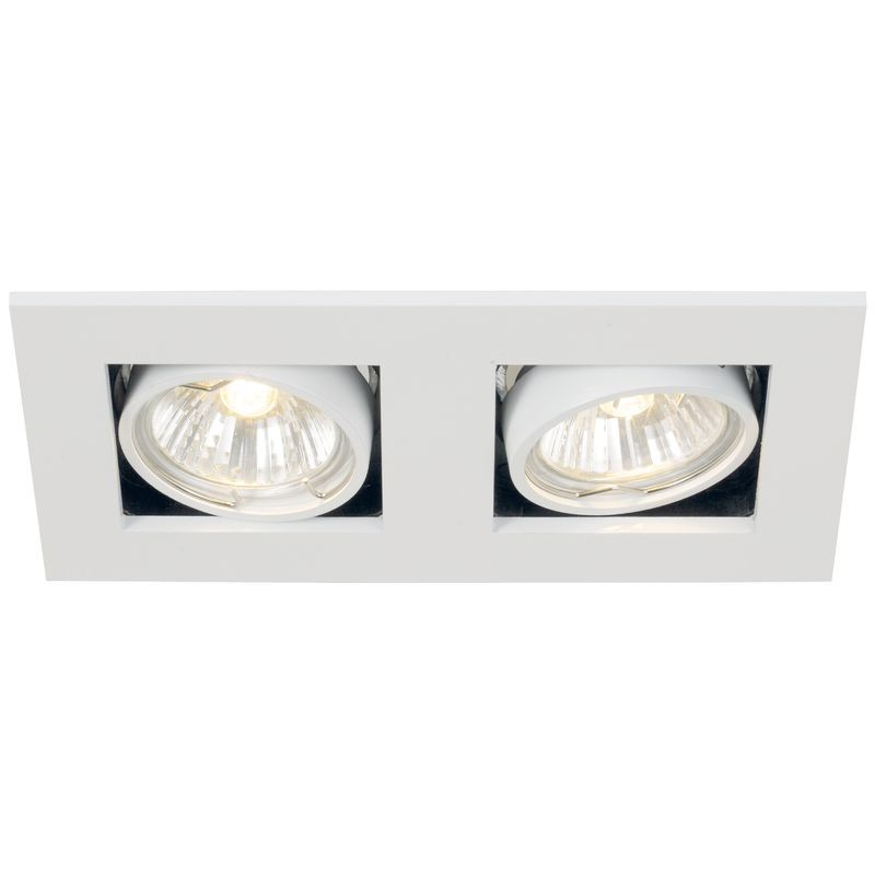 Nordlux Galilei Adjustable Twin Downlight White