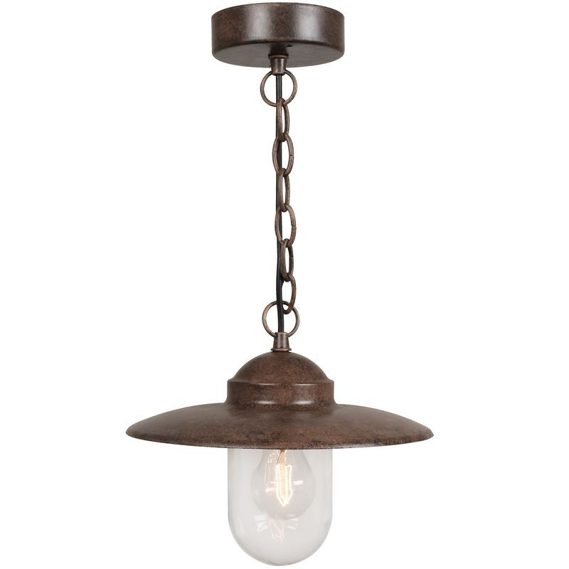 Nordlux Luxembourg Outdoor Pendant Light Rusty Outdoor Ceiling