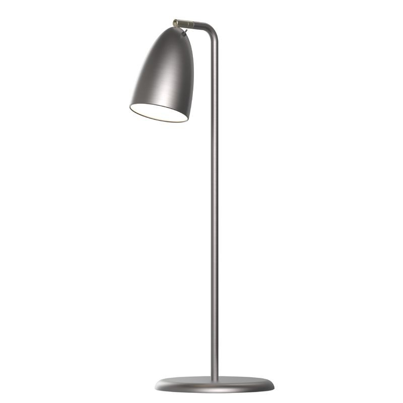 Nordlux Nexus 10 LED Table Lamp - Brushed Steel - Table Lamps - Lamps