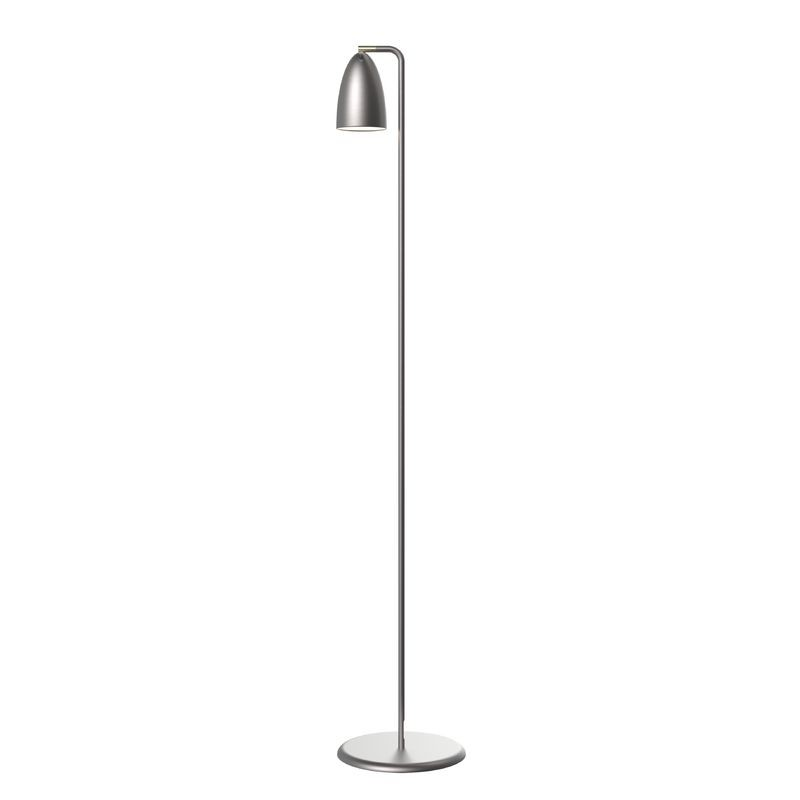 nordlux nexus 10 led floor lamp brushed steel. Black Bedroom Furniture Sets. Home Design Ideas