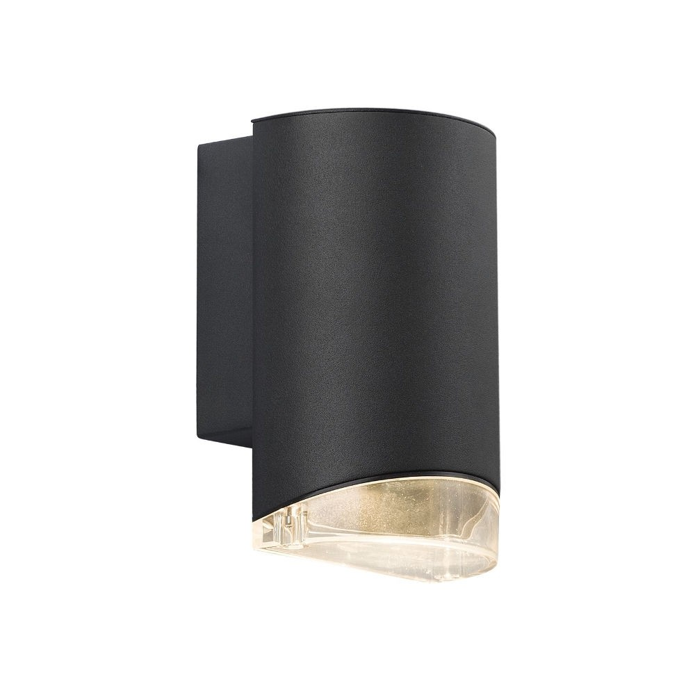 Nordlux arn outdoor down wall light black nordlux arn outdoor wall down light black workwithnaturefo