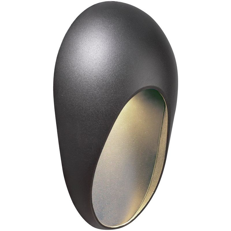Tescos Wall Lights : Nordlux Topaz 28W GU10 Outdoor Wall Light - Anthracite