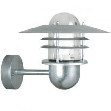 Nordlux Agger Outdoor Wall Light - Galvanised