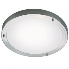 Nordlux Ancona Maxi E27 Ceiling Light - Brushed Steel