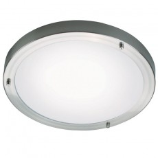 Nordlux Ancona Maxi LED Ceiling Light - Brushed Steel