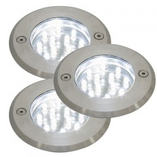 Nordlux Andros 12V LED Ground Lights - 3 Pack