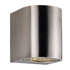 Nordlux Canto Outdoor LED Wall Light - Stainless Steel
