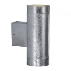 Nordlux Castor Maxi Double Wall Light - Galvanised