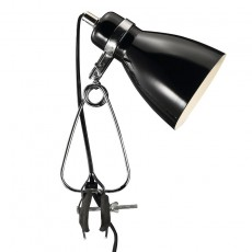Nordlux Cyclone Clamp Spotlight - Black