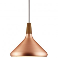 Nordlux Float 27 Ceiling Pendant Light - Brushed Copper