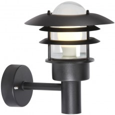 Nordlux Lonstrup 22 Outdoor Wall Light - Black