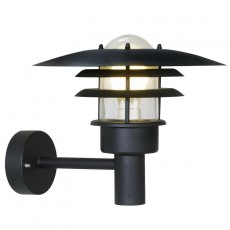 Nordlux Lonstrup 32 Outdoor Wall Light - Black