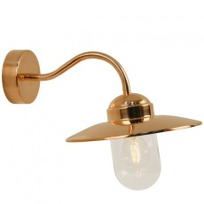 Nordlux Luxembourg Outdoor Wall Light - Copper
