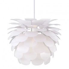 Motion 50 E27 Ceiling Pendant - White