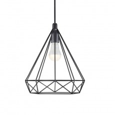 Nordlux Aire Geometric Ceiling Pendant Light - Black