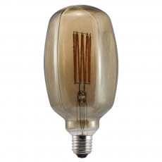 Nordlux Avra 4W LED E27 Dimmable Air Bulb - Smoke