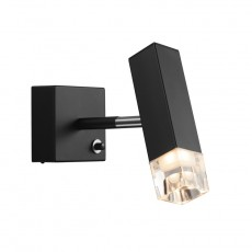 Nordlux Caddo LED Wall Light - Black