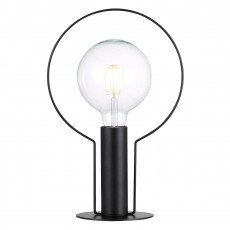 Nordlux Dean Halo Table Lamp Black 46615003