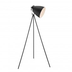 Nordlux Largo Tripod Floor Lamp Black 46704003