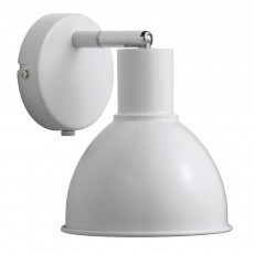 Nordlux Pop Retro Wall Light - White