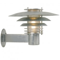 Nordlux Pheonix Mini Outdoor Wall Light - Galvanised