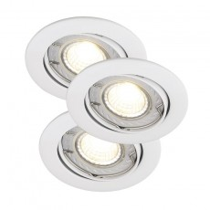 Nordlux Recess 3-Kit LED COB Dimmable - White