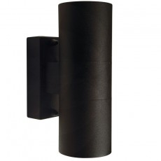 Nordlux Tin Double Outdoor Wall Light - Black