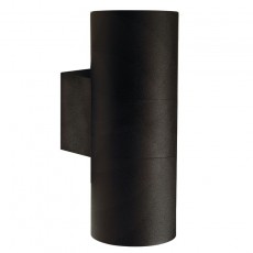 Nordlux Tin Maxi Double Outdoor Wall Light - Black