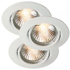 Nordlux Triton 3-Kit GU10 Downlights - White