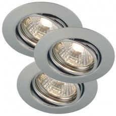 Nordlux Triton 3-Kit GU10 Downlights - Chrome