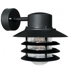 Nordlux Vejers Outdoor Wall Light Down - Black