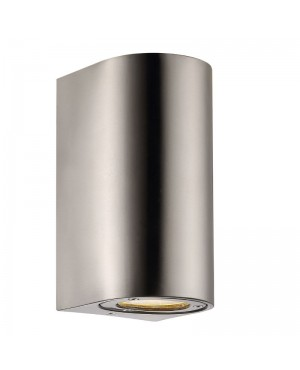Nordlux Canto Maxi Outdoor Wall Light - Stainless Steel