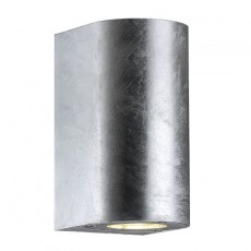 Nordlux Canto Maxi Outdoor Wall Light - Galvanised