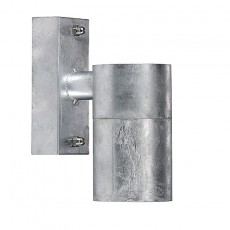 Nordlux Castor Outdoor Wall Light - Galvanised